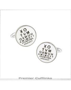 Optometrist Cufflinks