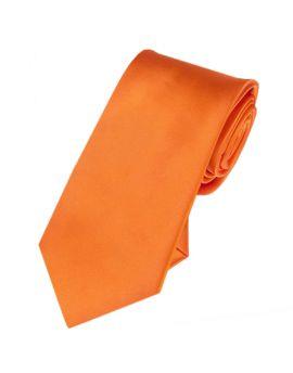 yellow slim tie