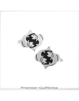 Pisces Star Sign Cufflinks