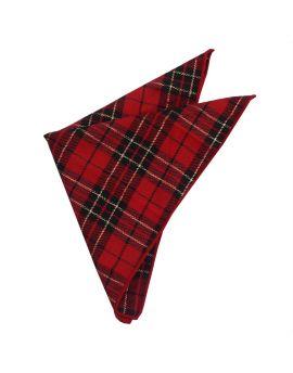 Royal Stewart tartan handkerchief