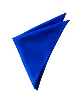 Mens Royal Blue Pocket Square
