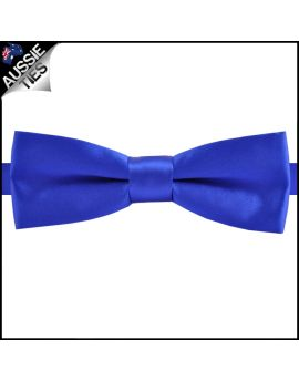Royal Blue Slim Style Bow Tie