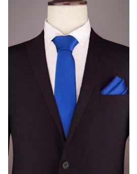 Mens Royal Blue Extra Long Tie