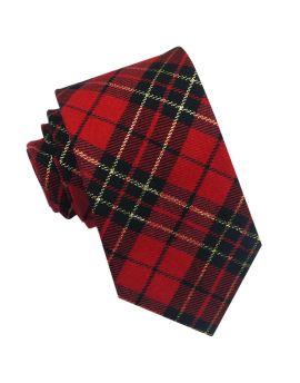 Royal Stewart Tartan Mens Tie