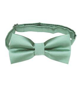 sage green boy's bow tie