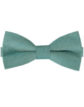 Deep Sea Green Cotton Mens Bow Tie