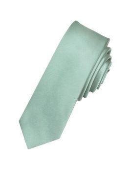 Sage Green Skinny Tie
