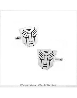 Silver Autobot Cufflinks