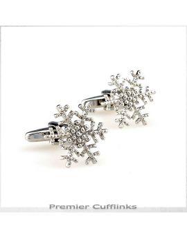 Snowflake Cufflinks