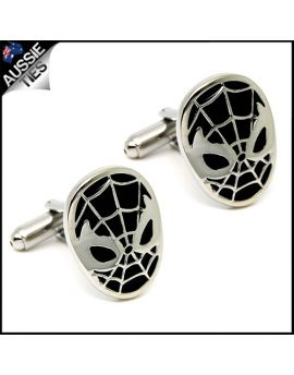 Mens Spiderman Cufflinks