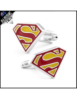 Mens Superman Cufflinks