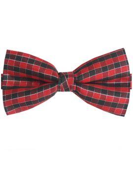 Tartan Check Bow Tie