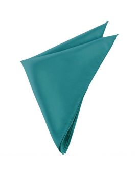 Mens Teal Green Pocket Square