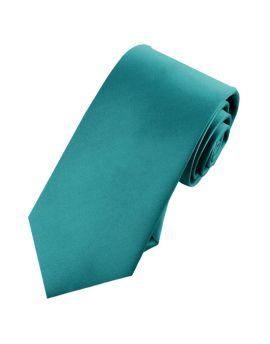 Mens Teal 7cm Slim Tie