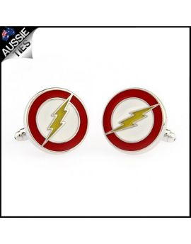 Mens The Flash Cufflinks