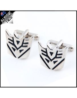 Mens Transformers Decepticon Cufflinks