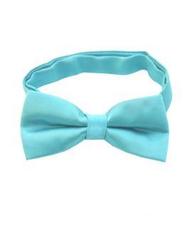 Turquoise Boys Bow Tie