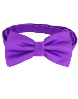 Violet Purple Bow Tie