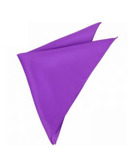 Mens Violet Purple Pocket Square