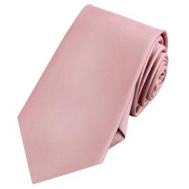 Mens Blush Dusky Pink Rose Tie