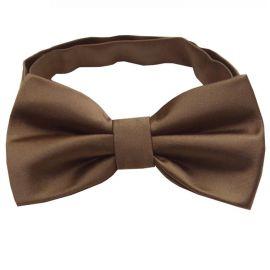 Chocolate Coffee Brown Bow Tie