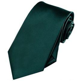 Mens Forest Dark Green Tie