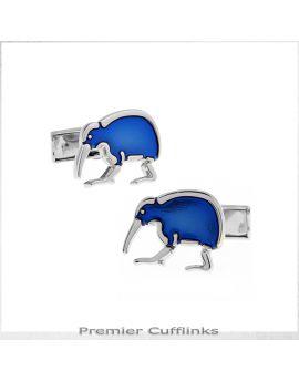 Blue Kiwi Cufflinks